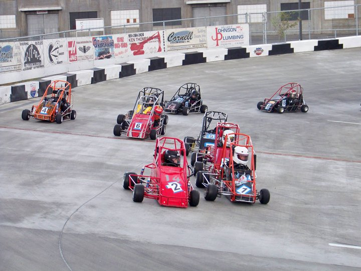 Orange show quarter midget track