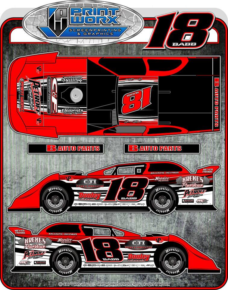 The racing pages of shannonbabb18 for Dirt track race car paint schemes