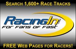 RacingIn, Race Track Directory