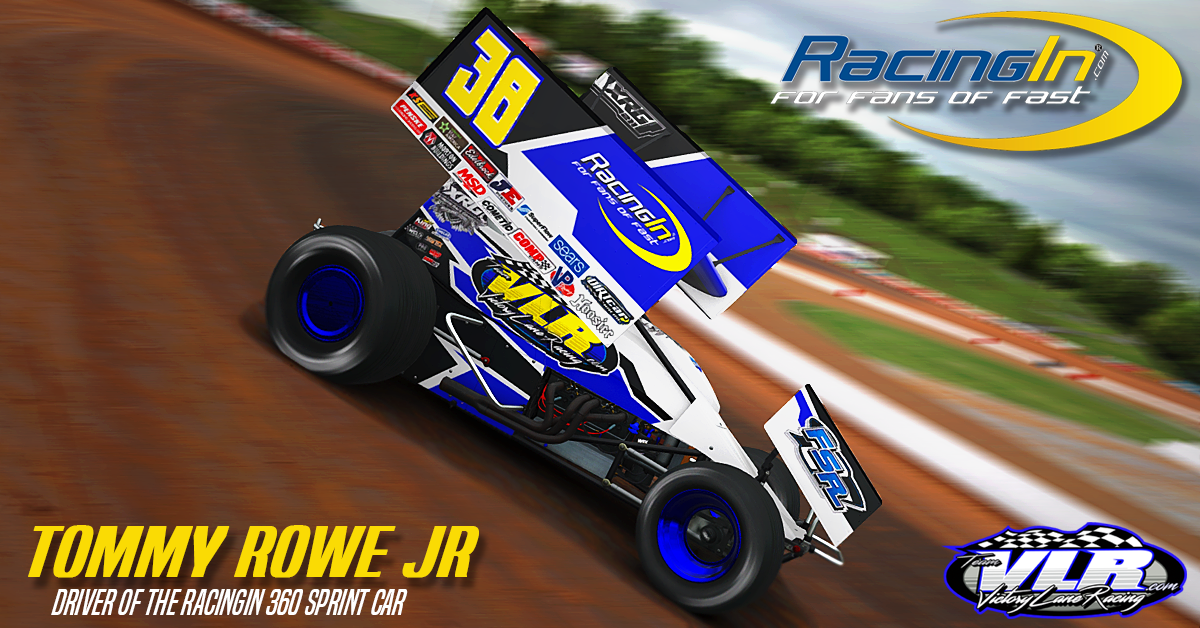 RacingIn com Launches Support of Team VLR Dirt iRacing